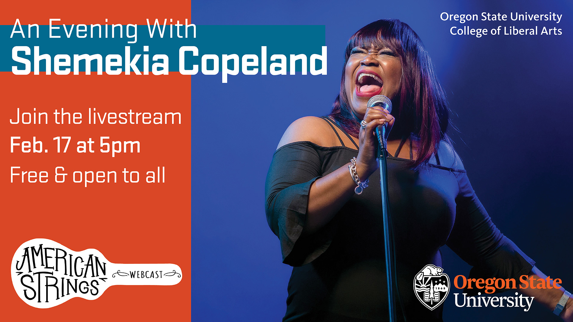 American Strings - An Evening with Shemekia Copeland