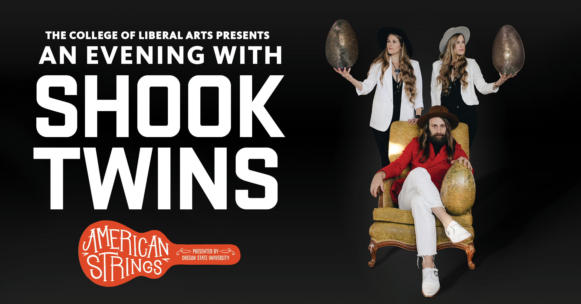 American Strings presents An Evening with Shook Twins