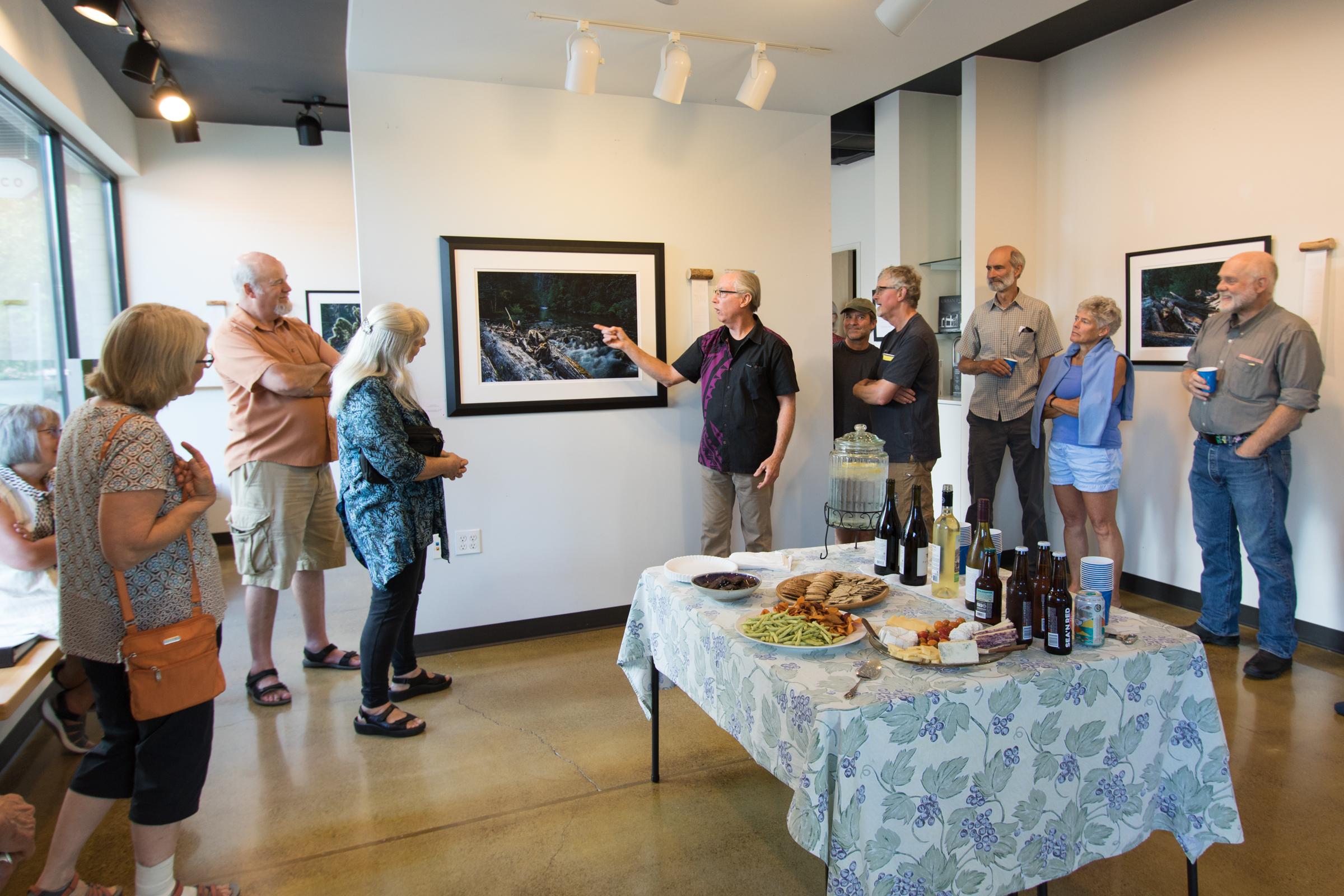 David Paul Bayles art exhibit