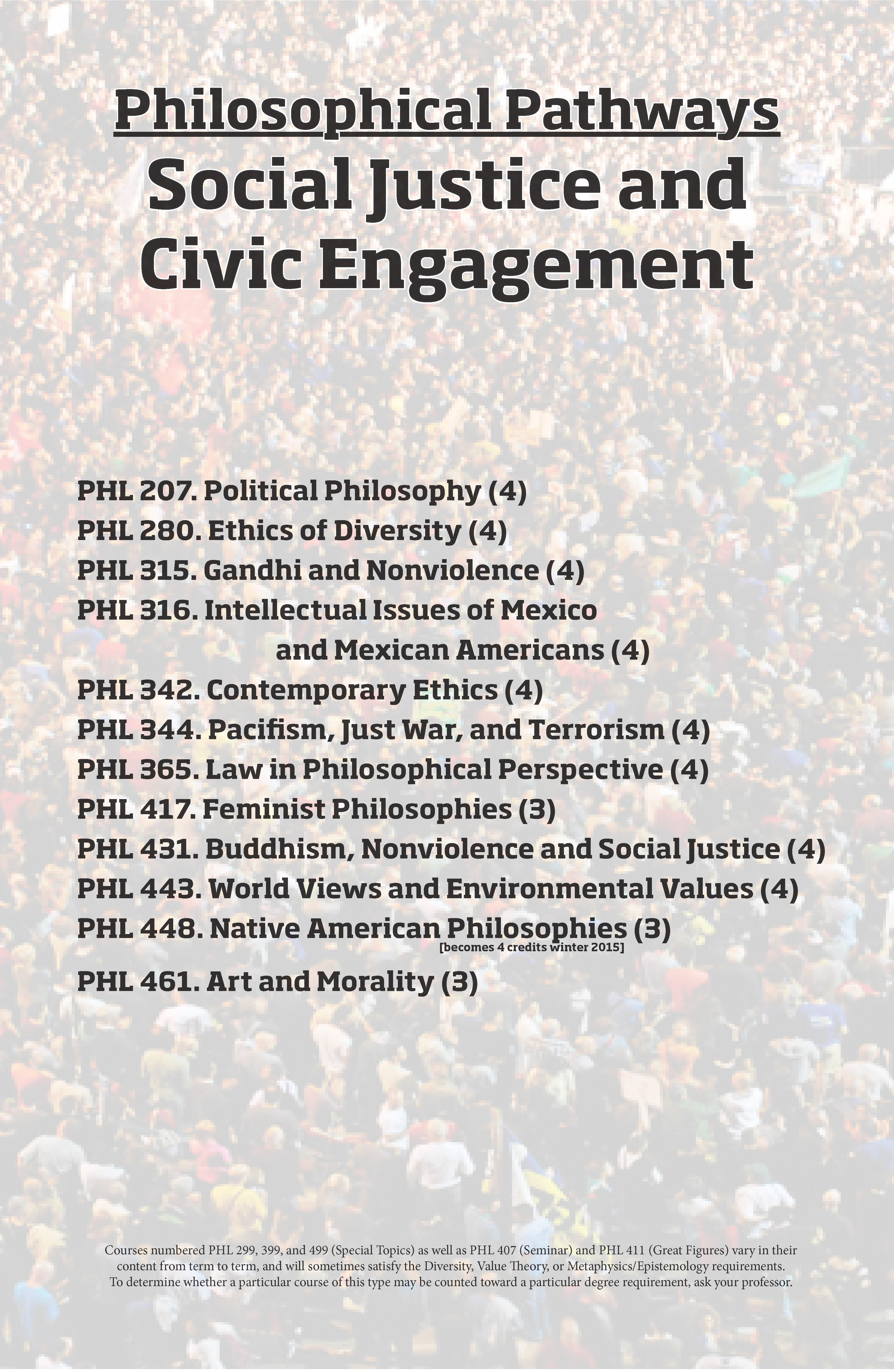 Social Justice and Civic Engagement