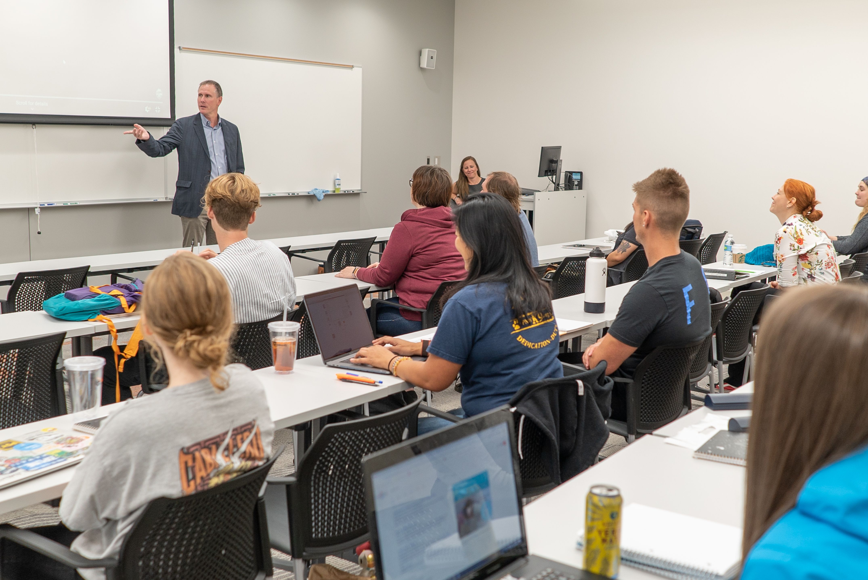 Instructor Teaching in Portland Center