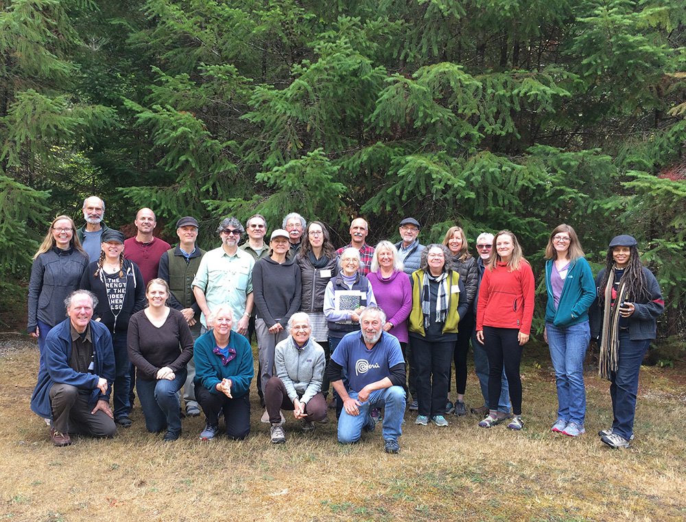 Participants in Blue River Writers Gathering 2018