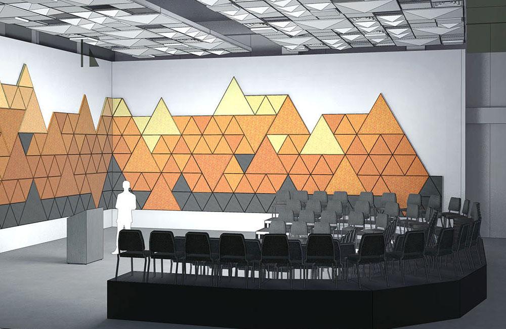 Arts and Education Complex classroom