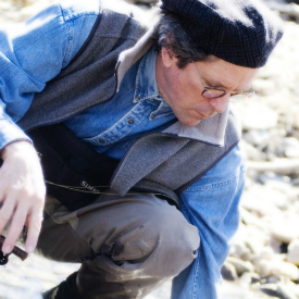 Headshot of David James Duncan