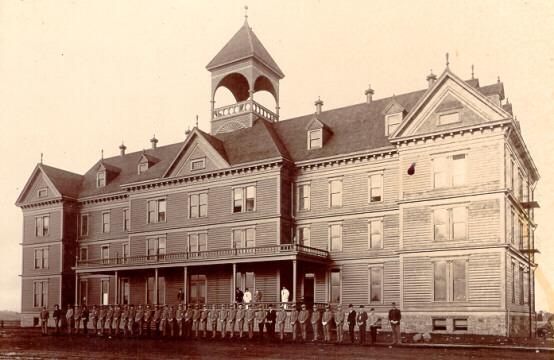 1892 picture of Fairbanks Hall
