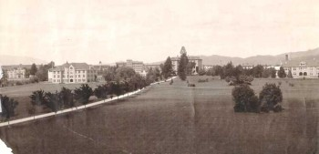 1910 picture of Campus