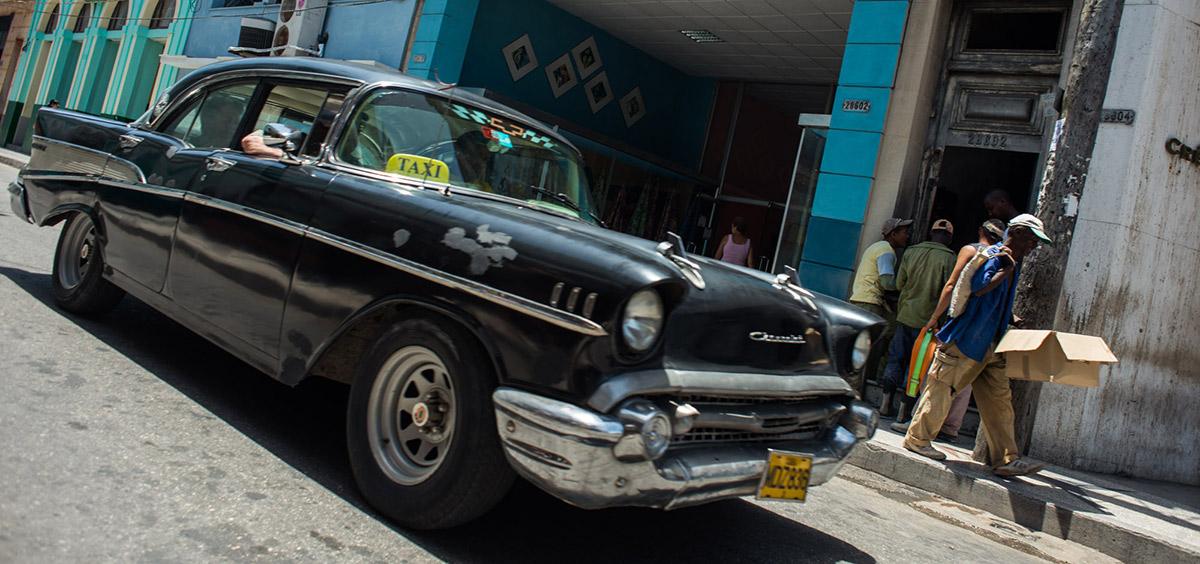 1950's Chevrolet car in Cuba