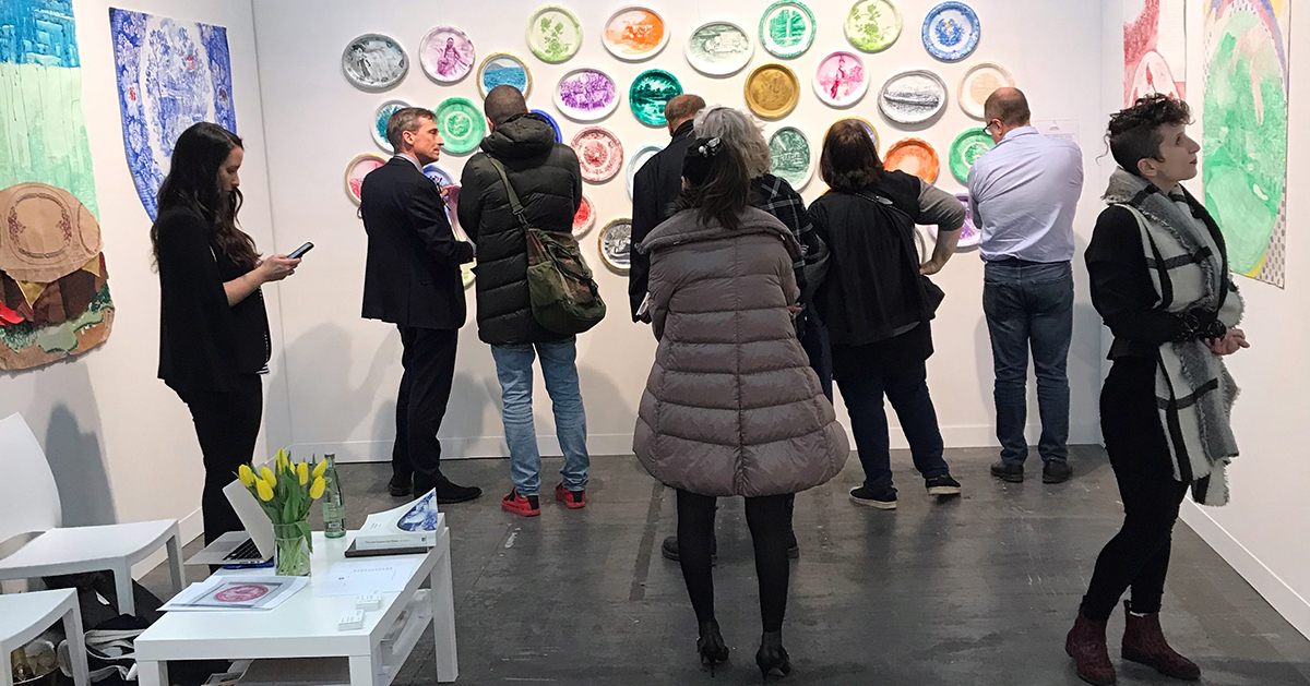 Julie Green Armory Show 2020