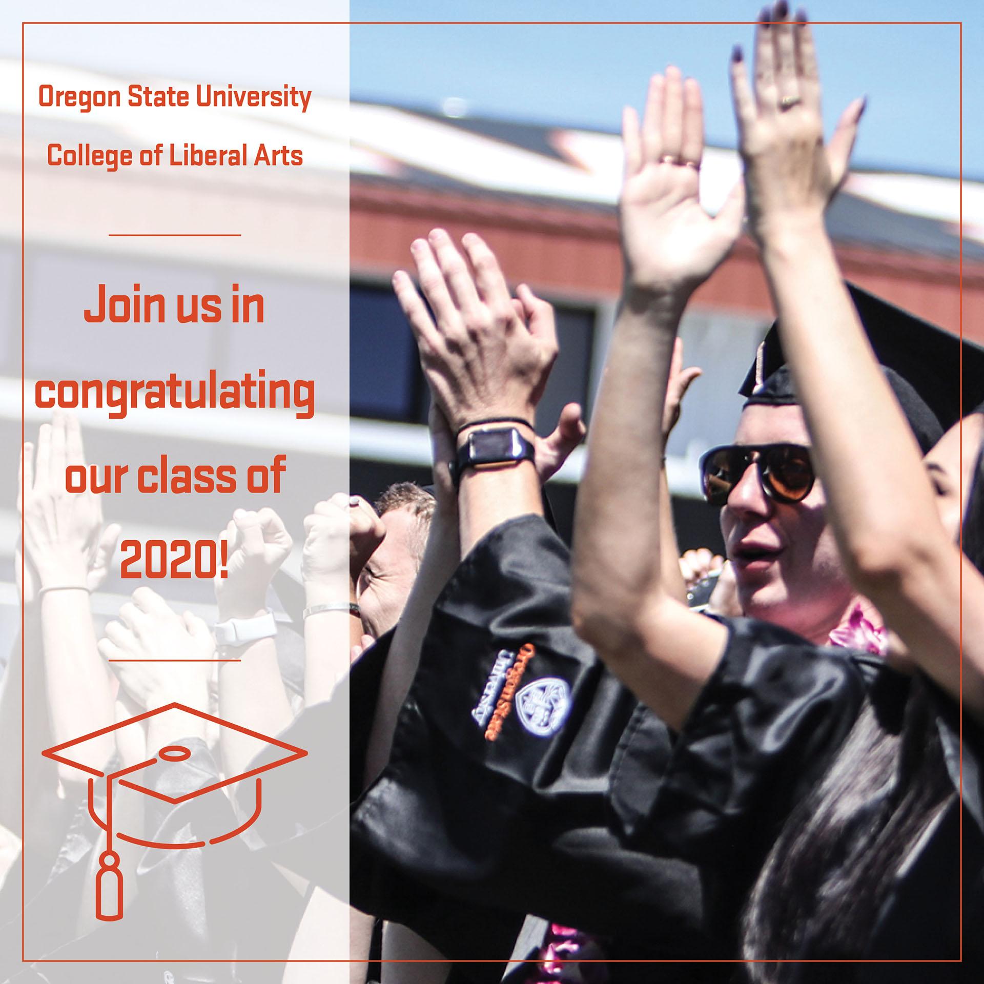 4-Year Graduation Graphic