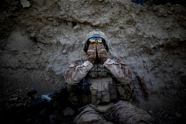 Marine by David Gilkey