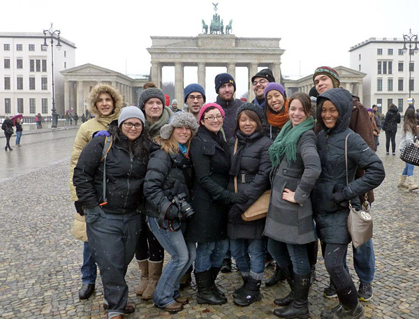 OSU students in Berlin, Germany