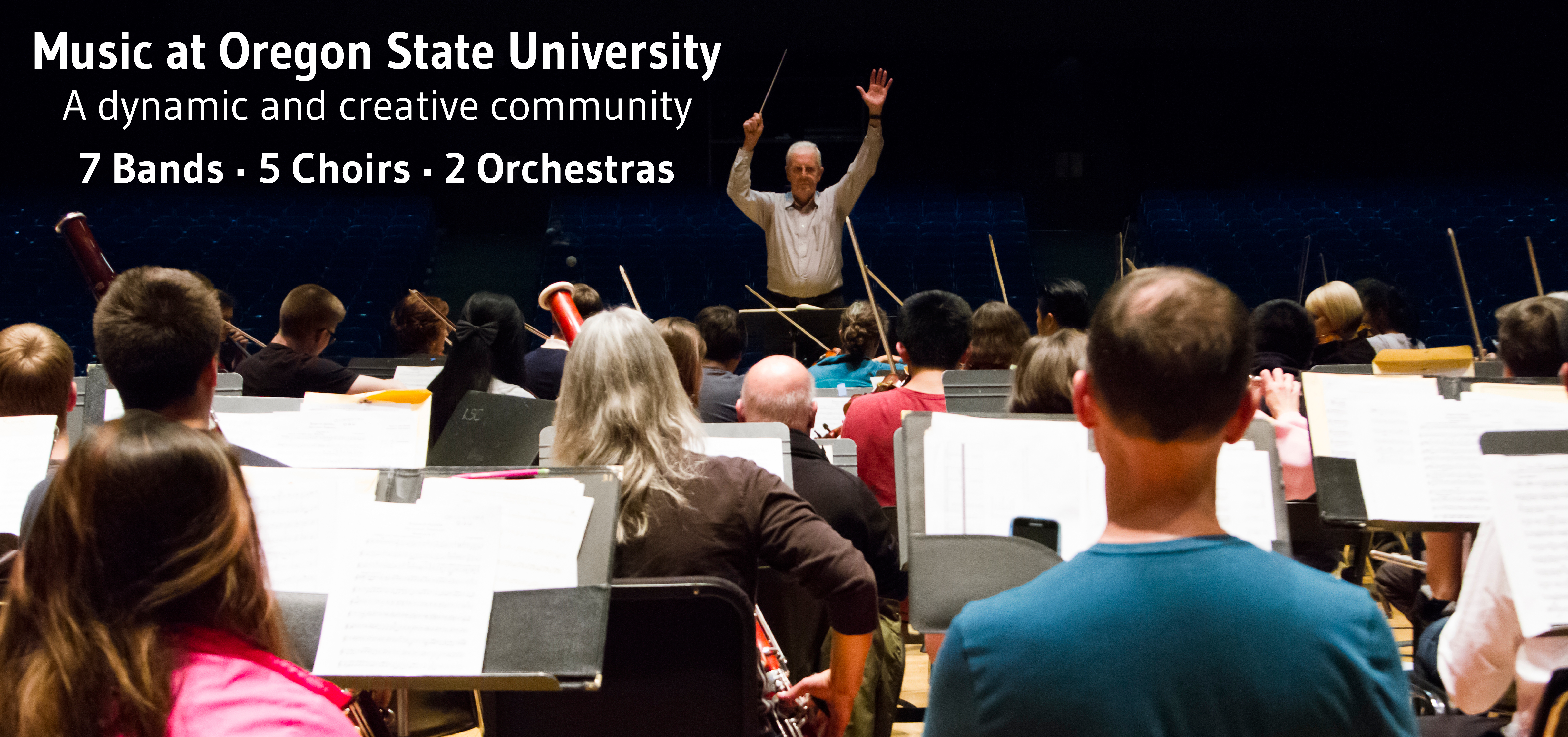 Music at OSU - a dynamic and creative community.