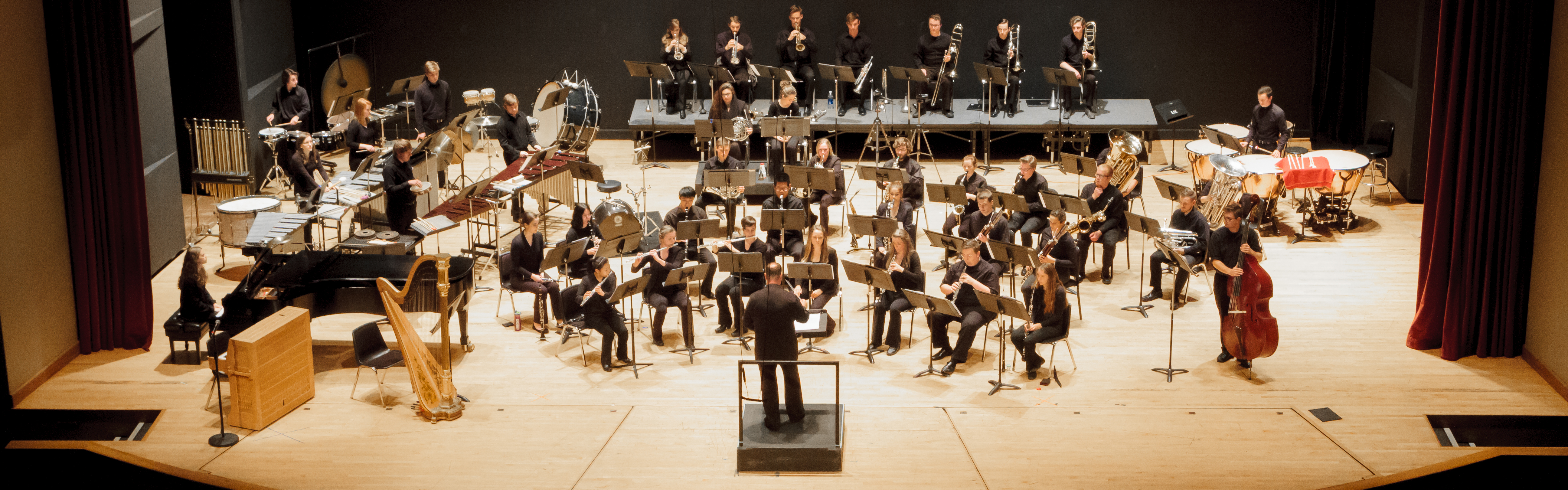 The OSU Wind Ensemble in concert at The LaSells Stewart Center