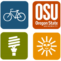OSU carbon action plan logos