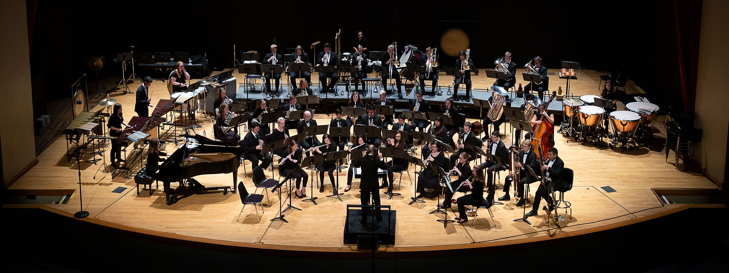 OSU Wind Ensemble 2019-2020 conducted by Dr. Erik Leung