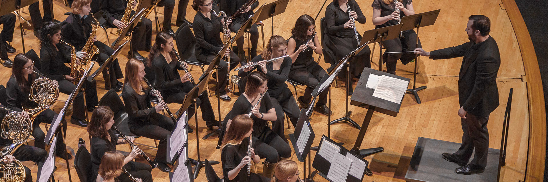 OSU Wind Symphony conducted by Olin Hannum