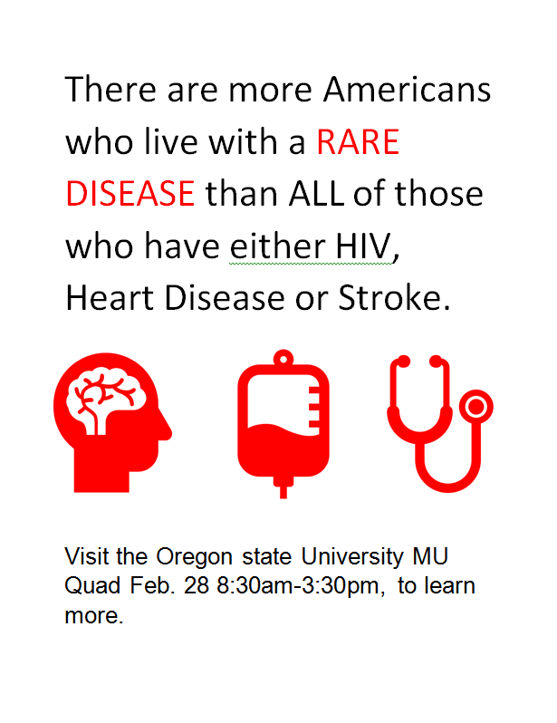 More Americans live with a rare disease than all who have HIV, heart disease or stroke.