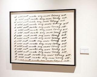 Baldessari: I Will Not Make Any More Boring Art.