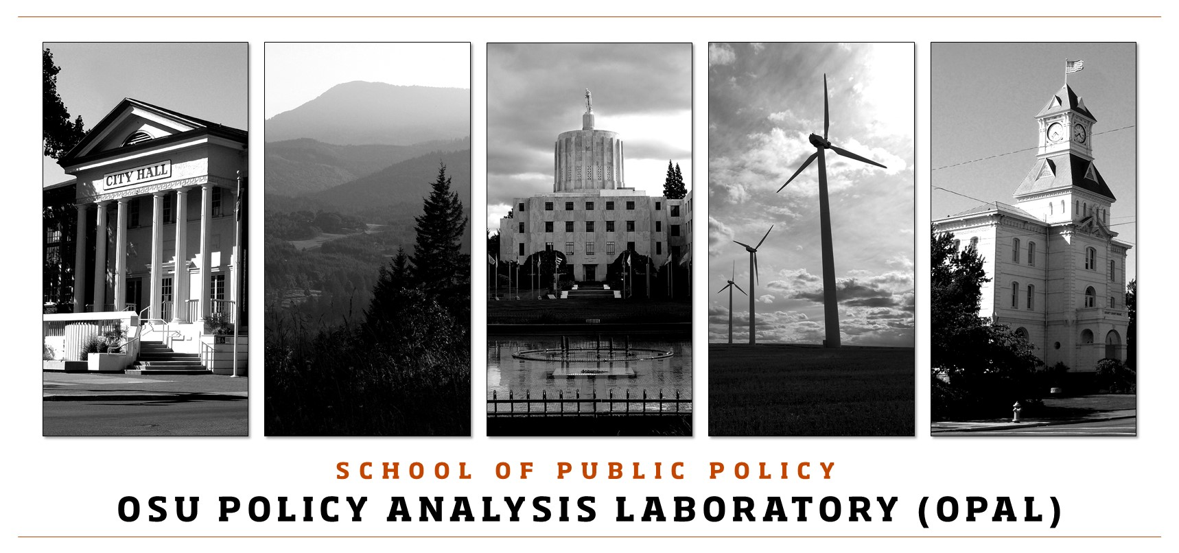 School of Public Policy Oregon Policy Analysis Laboratory