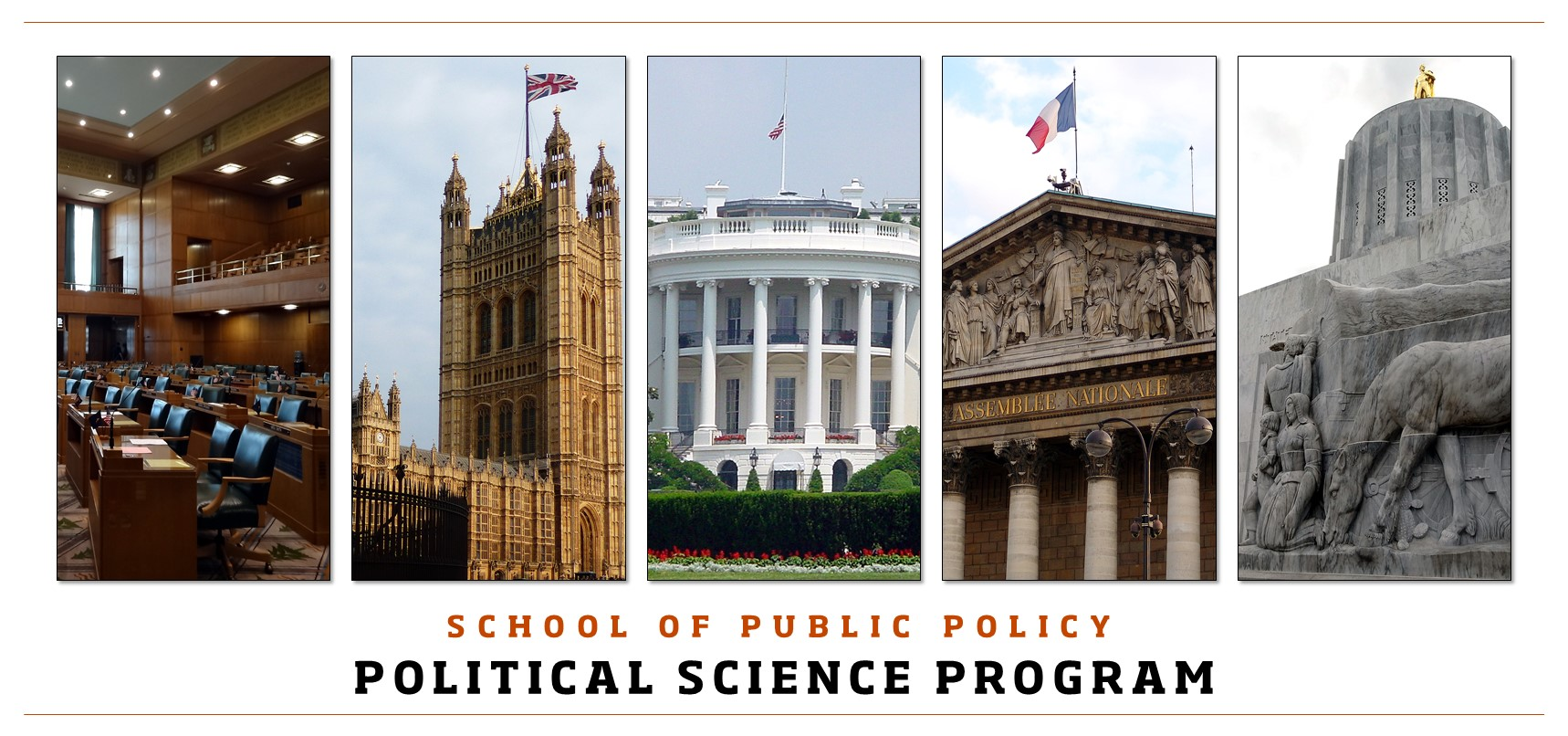 School of Public Policy Political Science Program