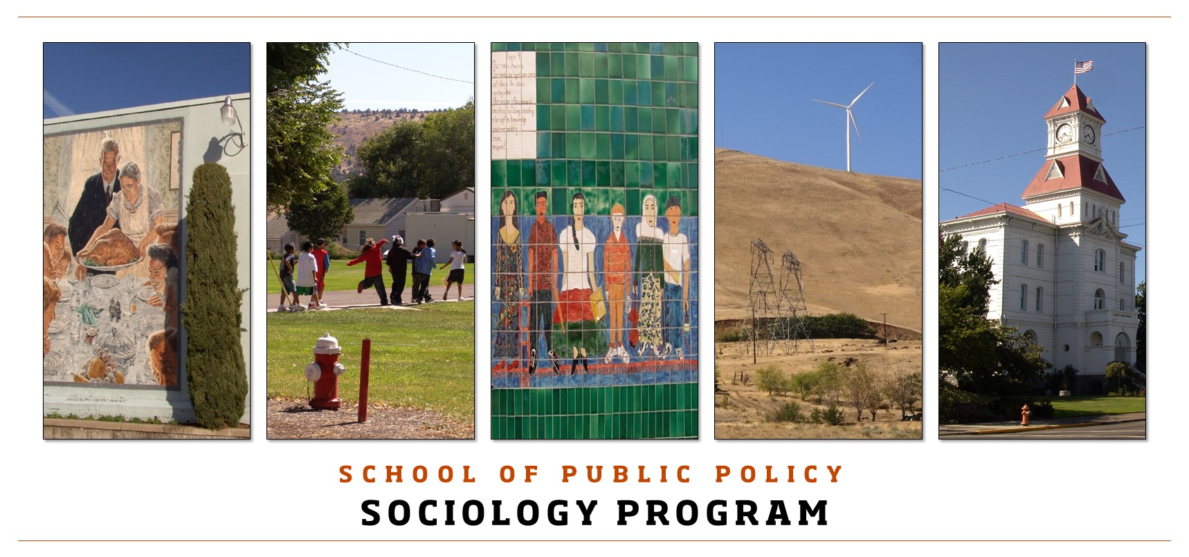 School of Public Policy Sociology Program
