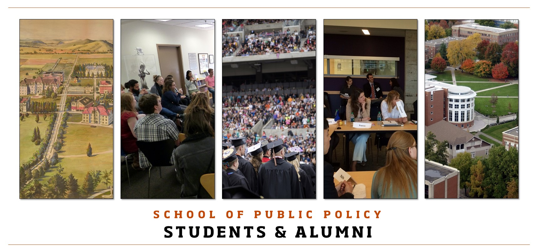 School of Public Policy Students and Alumni