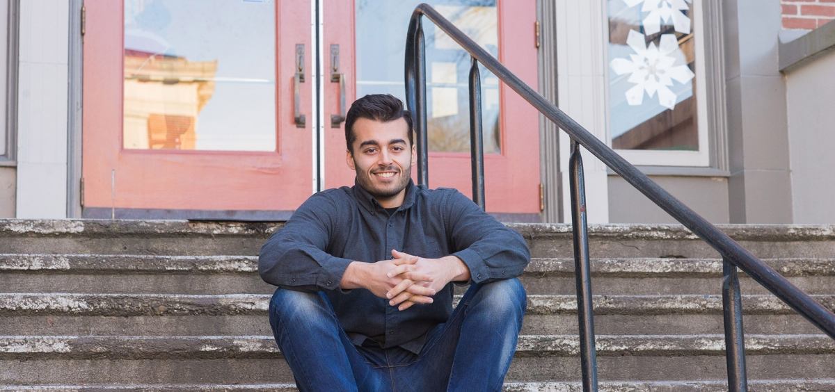 How a career-focused class helped Jahan Kahusi pick an English major.