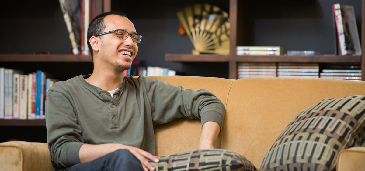 History graduate Mohamed Shaker