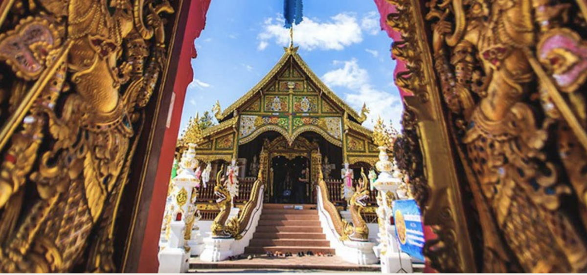 Phot of a Buddhist Temple
