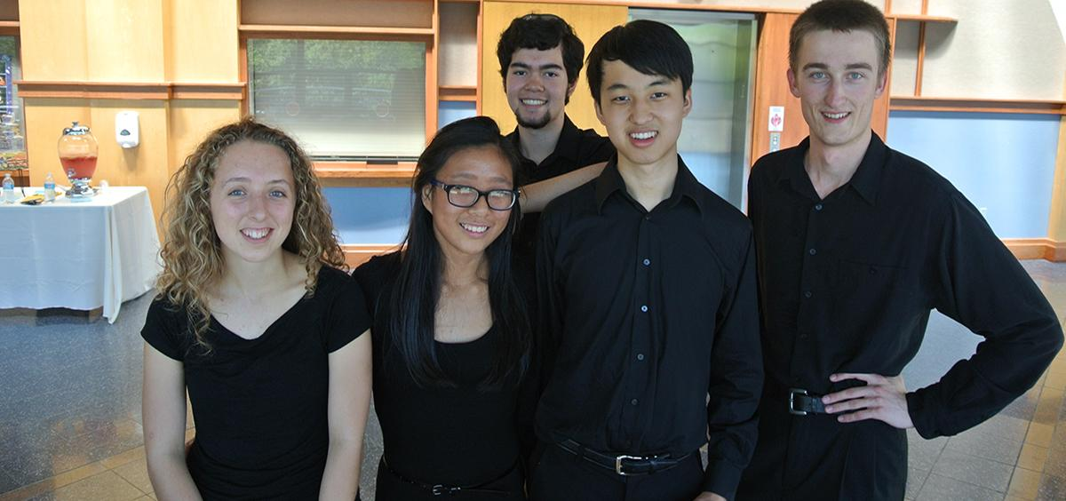 OSU Chamber Music Workshop Students