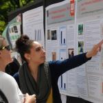 Jazlyn explaining her poster