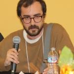 Alex Riccion, ES grad student, speaking.