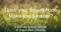 Does your Smartphone Make you Smarter?