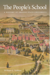 Book Cover a drawing of the old OSU College