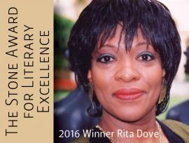 Photo of Stone Award Winner Rita Dove