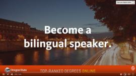 Youtube Video Title Screen - Become a Bilingual Speaker