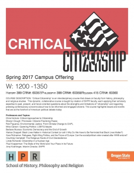 Critical Citizenship Flash Course