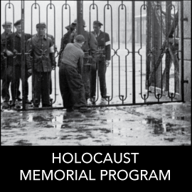 The Holocaust Memorial Program