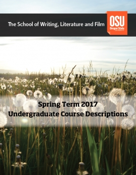 Spring Course Descriptions Cover