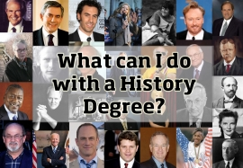 How to survive with a history degree?