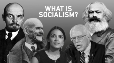 Image of past and present Democratic socialists