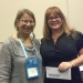 Prize winner Mindy Proski and Professor Joan Gross