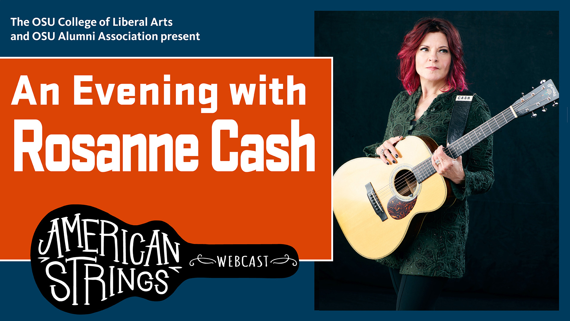 An Evening with Roseanne Cash