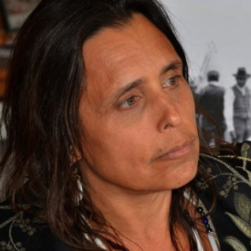 Headshot of Winona LaDuke